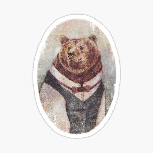 Old Gentleman Sticker