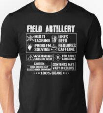 War field artillery girlfriend Weapon field artillery wife field artil Unisex T-Shirt