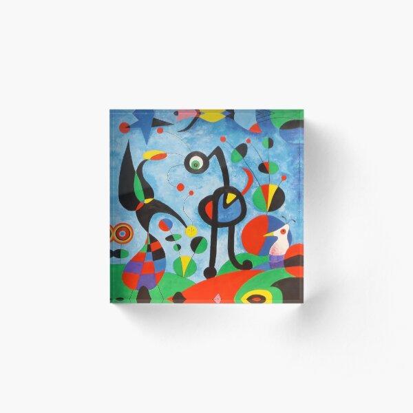 Miro Art Acrylic Block