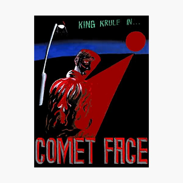 King Krule King with Face Comet Photographic Print