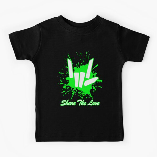 Share love cute for Kids and Youth Kids T-Shirt