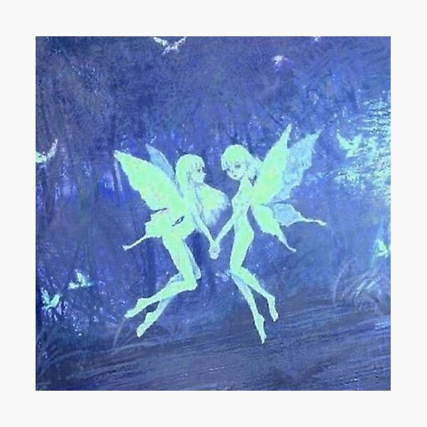 y2k fairies Photographic Print