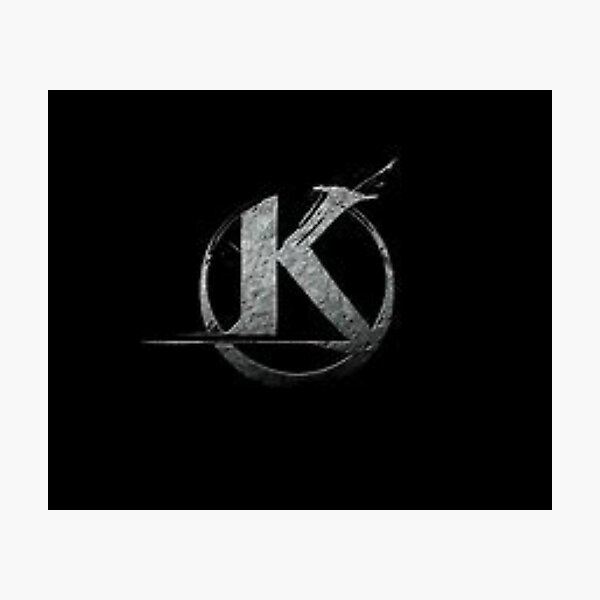 Logo Kaamelott Noir  Impression photo