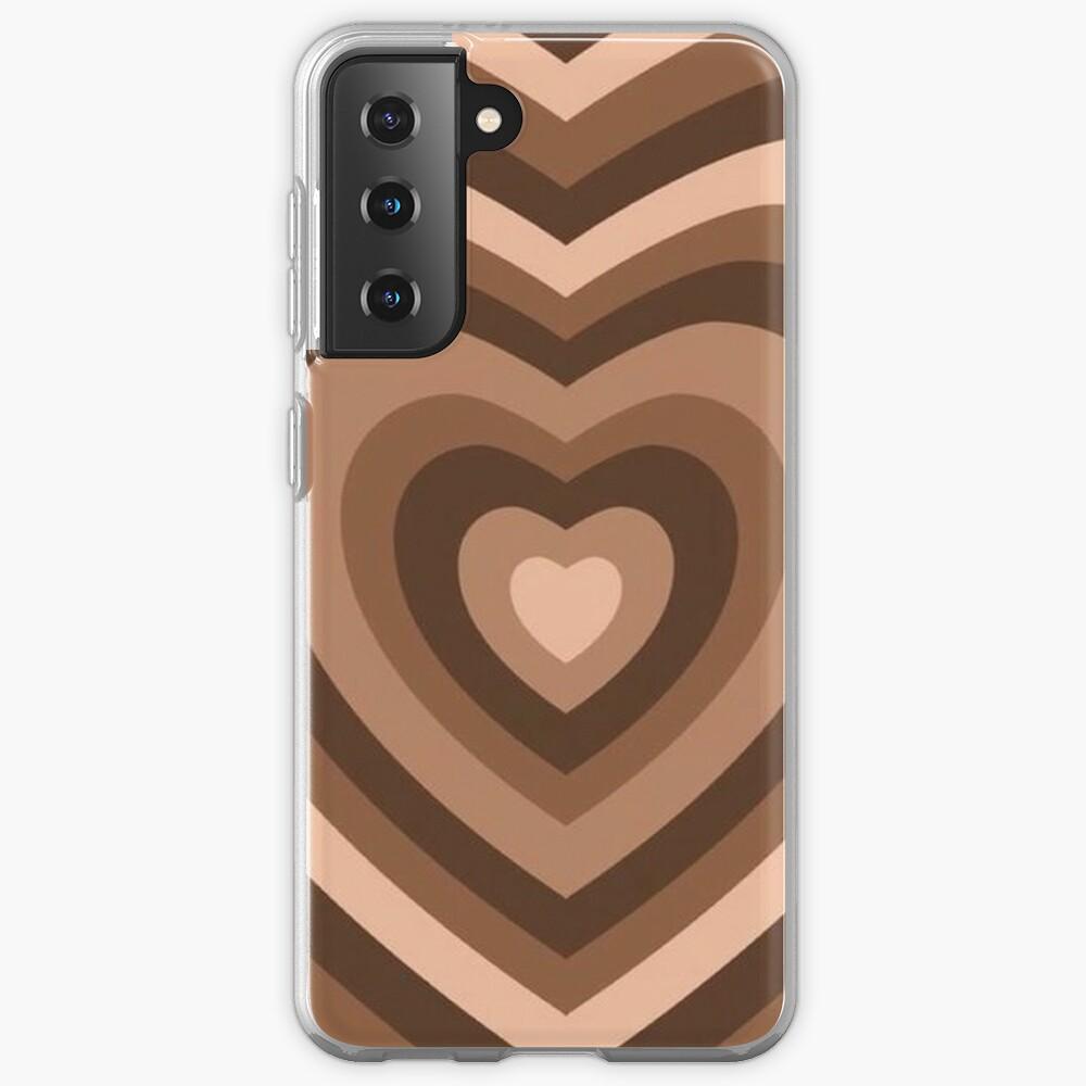 y2k heart brown Case & Skin for Samsung Galaxy