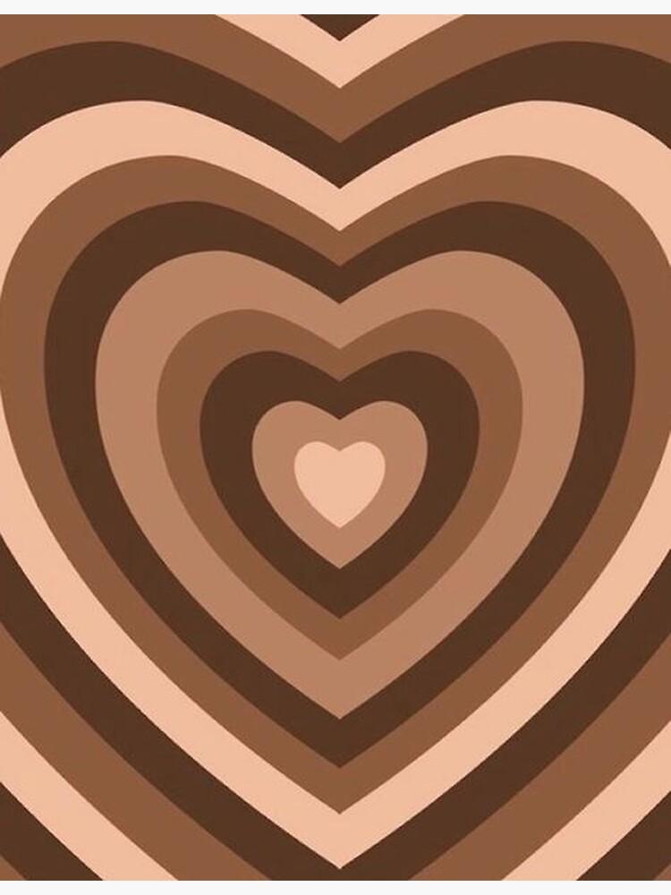 y2k heart brown by sabrinamerg