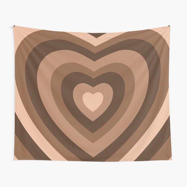 y2k heart brown Tapestry