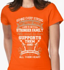 sexy heavy equipment operator  Womens Fitted T-Shirt
