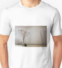 Contemporary flower seed in glass jar Unisex T-Shirt