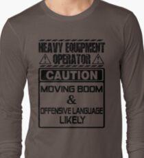 Background Vector Bolt  heavy equipment operator heavy equipment opera T-Shirt