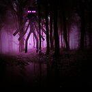 Minecraft: Mutant Enderman im Wald von kijkopdeklok