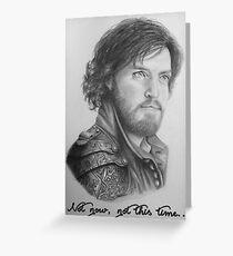Athos season 2 Greeting Card