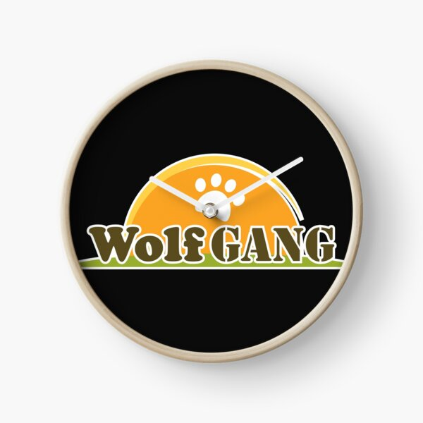 WolfGang: Serious About Dogs  Clock