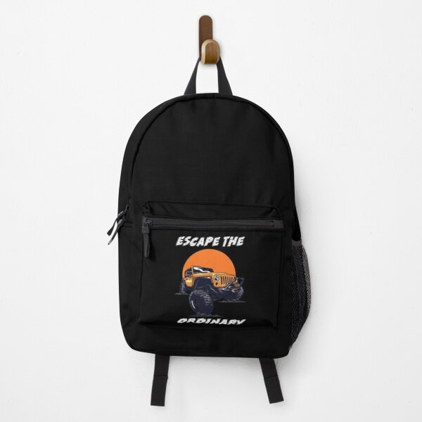 Escape the ordinary!  Backpack
