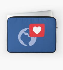 Love notification Laptop Sleeve