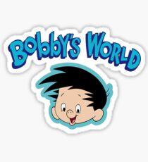 Bobbys World Sticker