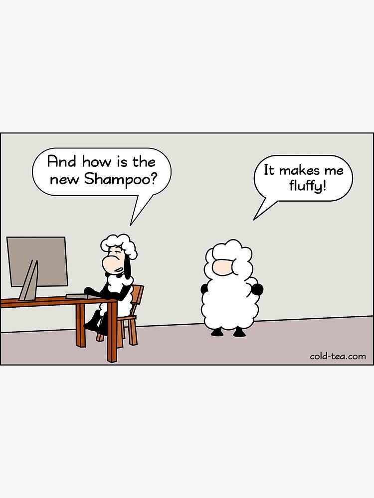 Shampoo by coldteacomics