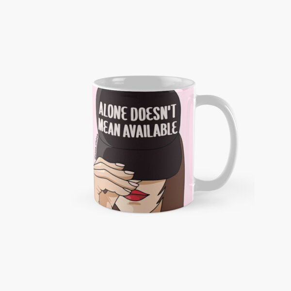 Alone by Sasa Elebea Classic Mug
