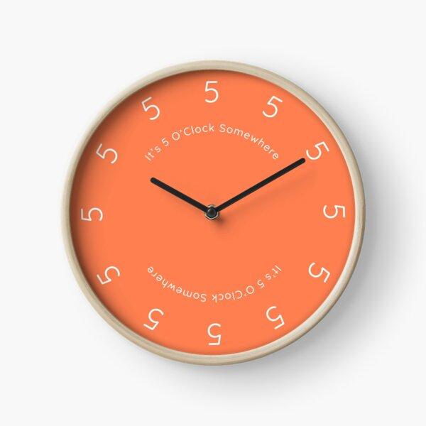 It's 5 O'Clock Somewhere Clock