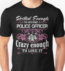 Occupation police officer blue line police officer ninja police office Unisex T-Shirt