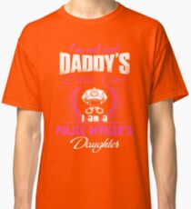 police officer onesies police officer dad Professional police officer  Classic T-Shirt
