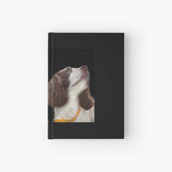 Two Spaniels Hardcover Journal