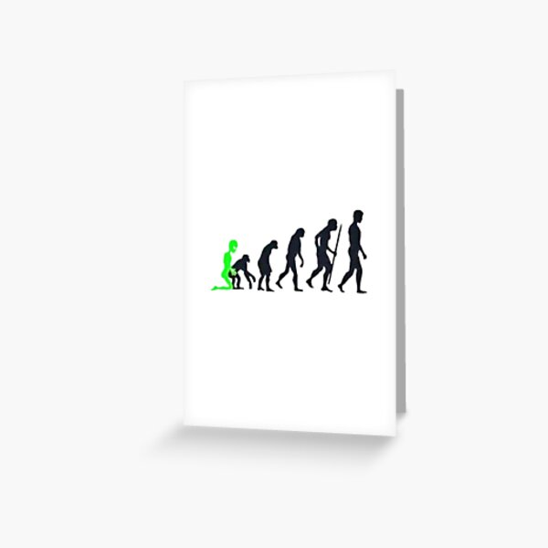 Alien Origins Greeting Card