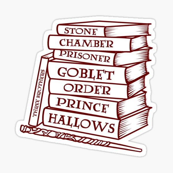 Livres magiques Sticker