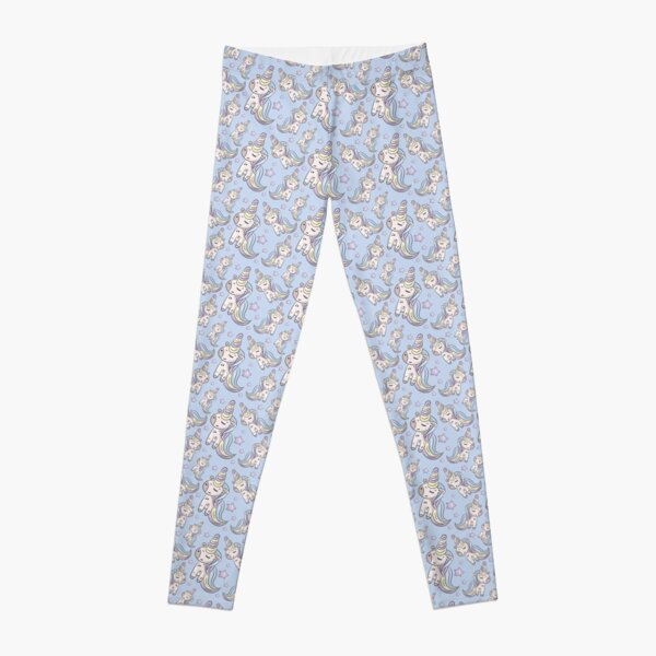 Cute unicorn pattern design ideas, for kids and adults Leggings