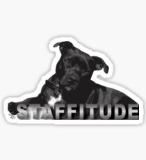 Staffitude Sticker