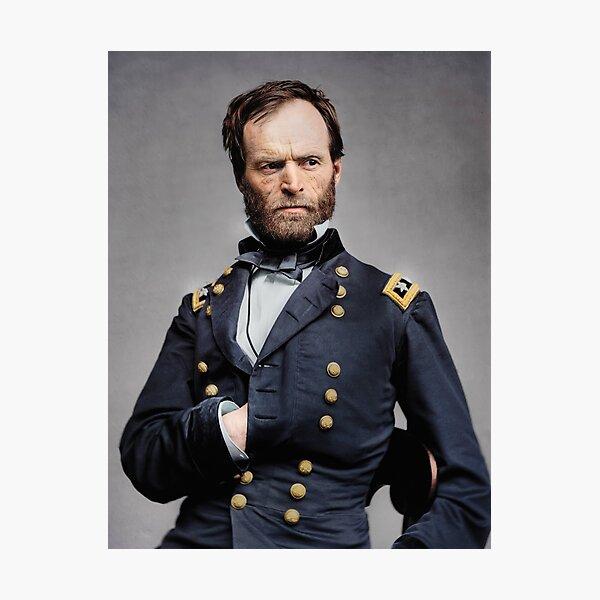 General William T. Sherman - Civil War Photographic Print