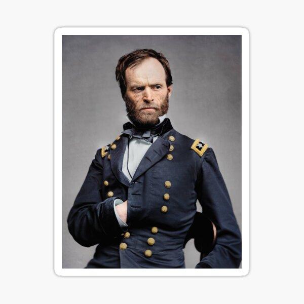 General William T. Sherman - Civil War Sticker