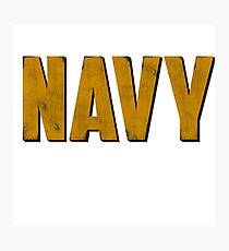 Navy Photographic Print