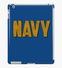 Navy iPad Case/Skin