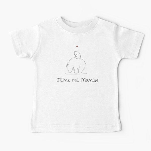 J'aime ma maman T-shirt bébé