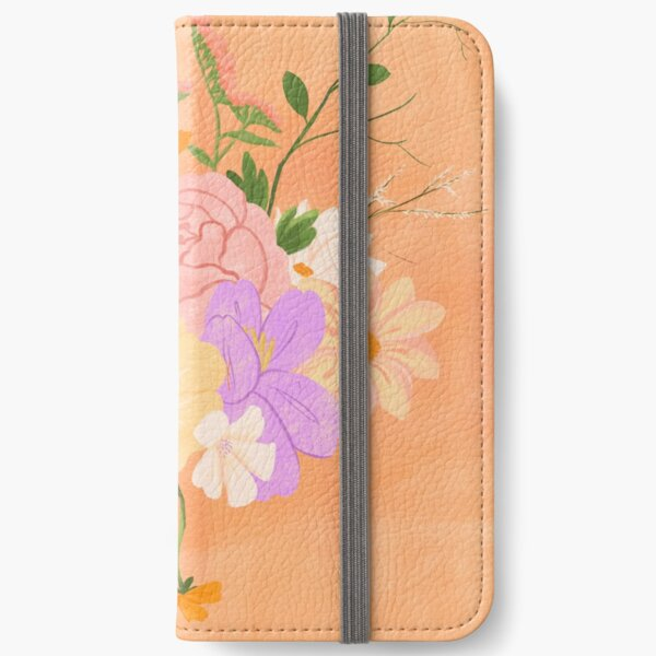 Boho Bouquet iPhone Wallet