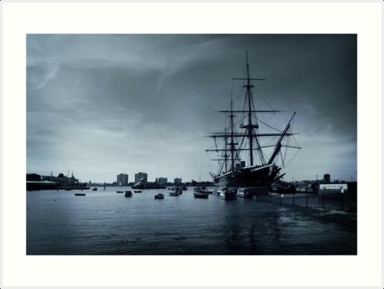 THE HMS Warrior 1860 by xiari