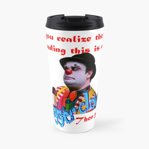 Clowning Around Travel Mug