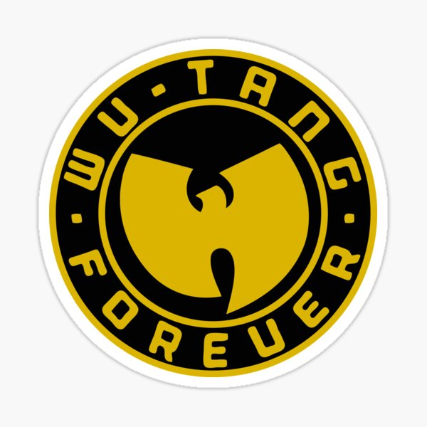 Wu Rapper Forever Sticker