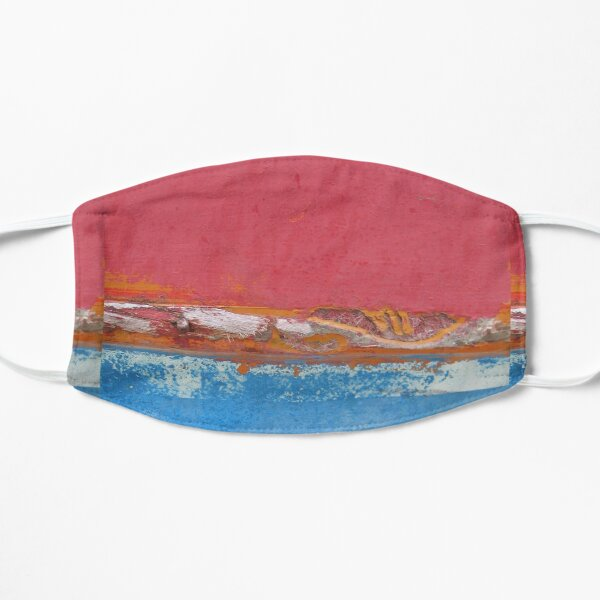 Seascape Abstract Flat Mask