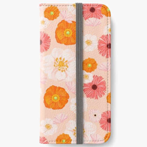Coral Bloom iPhone Wallet