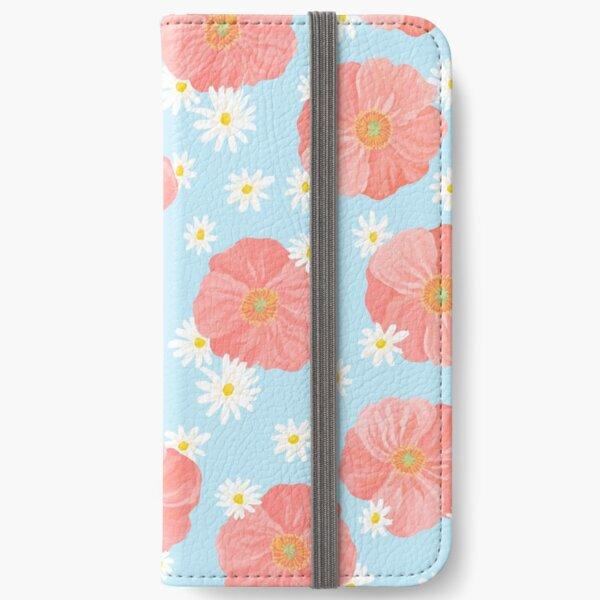 Poppies Garden iPhone Wallet