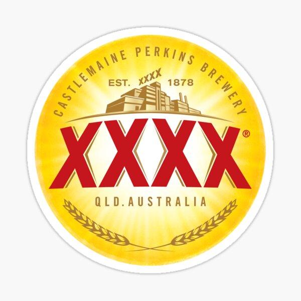 XXXX Beer Sticker