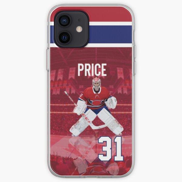 Carey Price 31 Maillot Domicile des Canadiens de Montréal Coque souple iPhone