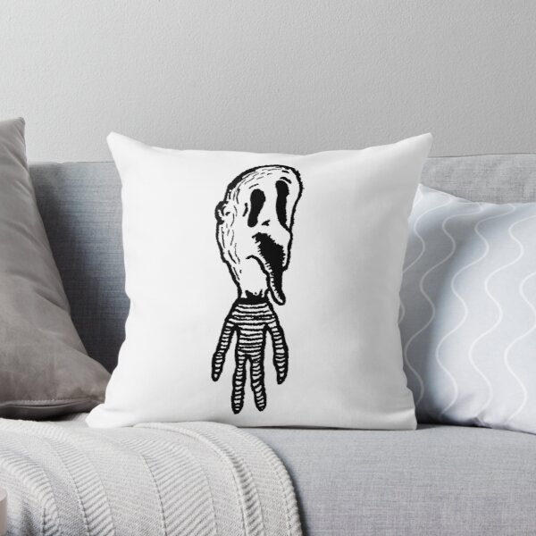 Stripe Onesie Throw Pillow