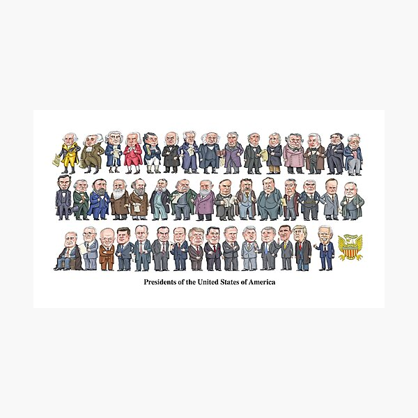 Presidents of the United States Photographic Print