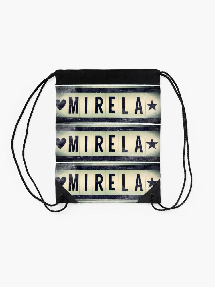 Alternate view of Mirela  Drawstring Bag