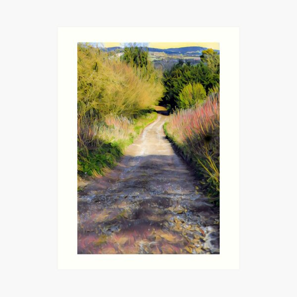 Meet me in the country Art Print
