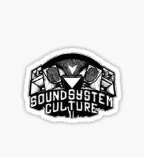 Soundsystem culture Sticker