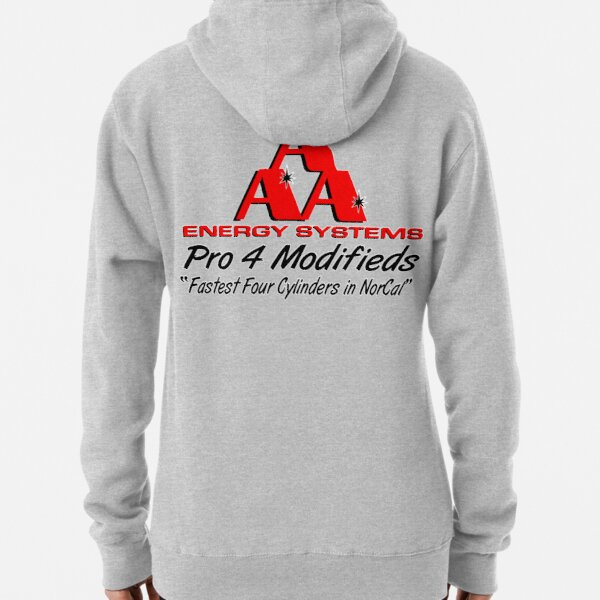 AAA Energy Systems Pro 4 Modifieds Racing  Pullover Hoodie