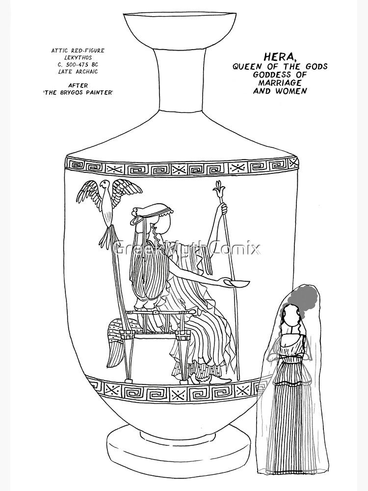 Copy of Greek Myth Comix - Olympian god Hera  by GreekMythComix